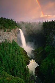 #Helmcken #Falls - Wells Gray, #BC  /  Adam Gibbs