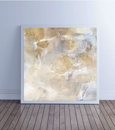 """Large Abstract Painting, Abstract Art, Canvas Art, Fine Art Print, Wall Art, brown gray neutral, """"Glyph 5b"""""""