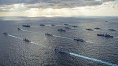 Geopolitik: Manöver US-amerikanischer und japanischer Streitkräfte