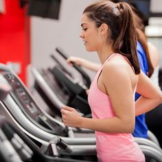 Burn fat and calories and build your lower body with this 300-calorie-burning treadmill routine from a fitness pro. - Fitnessmagazine.com @fitnessmagazine