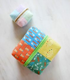 Patchwork Cube Bag. Сумочка-куб