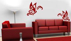 Sticker Decorativ Perete Fluture artistic