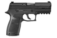The Sig P320.  Striker Fired Available in .45ACP, .40SW, .357Sig, 9mm, and .380 cal.   When purchased in the 40,357,9mm, or .380 cals they are all interchangeable so you change out the trigger assembly with the frames of any of the others in any variation and you are good to go.  REALLY nice gun and inexpensive for a SIG @ less than $600.  The US Army has just adopted them in the 9mm full size as their replacement to the M9.