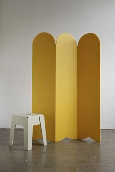 Great idea for creating different spaces within one room - Picket Room Divider - Design By Them.