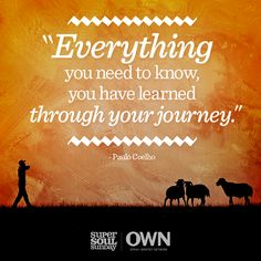 Life is a journey that we all can learn to appreciate. Paulo Coelho shares the path that led him to his destiny and how we can recognize ours.