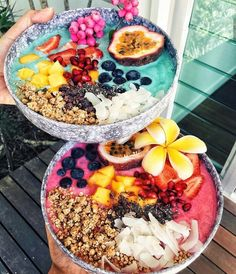 # Fruits - Energie Rezepte: Roh, Vegan - To eat healthy food I Love Food, Good Food, Yummy Food, Smoothie Bowl, Smoothie Recipes, Yummy Smoothies, Green Smoothies, Roh Vegan, Tumblr Food