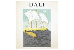 One Kings Lane - Museum Classics - Salvador Dalí, The Whale and the Ship