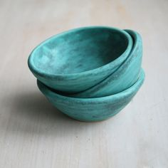 Hey, I found this really awesome Etsy listing at https://www.etsy.com/listing/215645401/three-small-ancient-turquoise-glazed