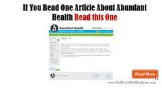 abundant health review