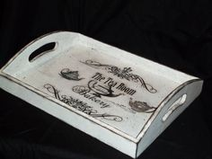 Shabby Serving tray (31.00 CAD) by BoutiqueClaire