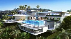 Passion For Luxury : Contemporary Mansions On Sunset Plaza Drive, LA