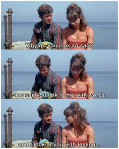 Pierrot Le Fou. 1965. French Film directed by Jean Luc Godard.