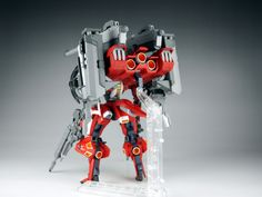 GUNDAM GUY: 1/144 Red Warrior Type Hyakuri - Customized Build