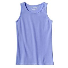 Toddler Girl Jumping Beans® Basic Ribbed Tank Top, Size: 3T, Blue (Navy)