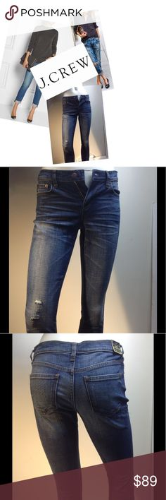 """🆕J. Crew Slim Boyfriend Jeans J. Crew Slim """"Stretch"""" Boyfriend Jeans ( these jeans are too small for my mannequin - they should fit a little bit loser on a size 24). Waist 28, Front Rise 8.5, Inseam 30"""" J. Crew Jeans Boyfriend"""