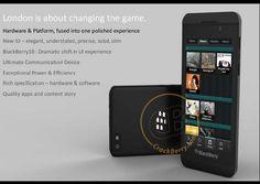 New BlackBerry Ten 'Lodon' Photo Leak