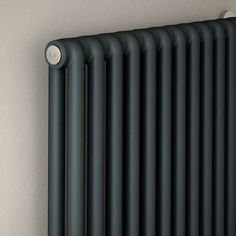 Collection of industrial design inspiration and resources. Architecture Details, Interior Architecture, Interior And Exterior, Le Manoosh, Black Radiators, Vertical Radiators, Column Radiators, Interior Inspiration, Design Inspiration