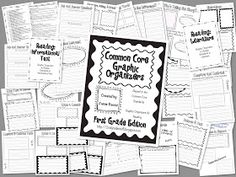 Hi guys!  I am finally finished with the Common Core Graphic Organizers: 1st Grade Edition!  I've had many, many requests for this so I hop...