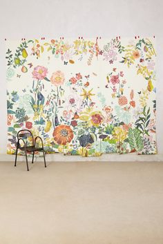 """Great Meadow Mural - anthropologie.com $548 for 118""""x146"""", 8 panels"""