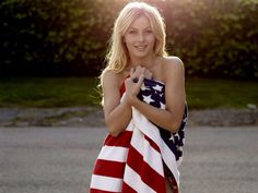 Julianne Hough and America go well together