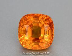 Fanta Orange Sapphire - Srilanka