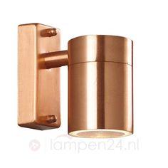 Koperkleurige wandlamp TIN 7005113