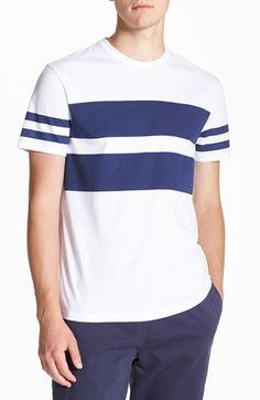 NEW IN: Topman Stripe Print T-Shirt available at #Nordstrom #TOPMAN