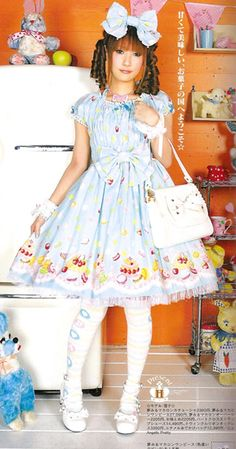 Candy Sweet Lolita  (That hair is atrocious though)