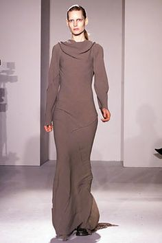 Rick Owens Fall 2002 Ready-to-Wear Fashion Show - Kirsten Owen, Rick Owens
