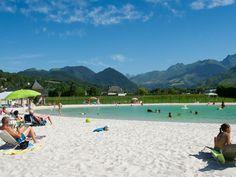 Camping Le Monlôo - Pyreneeën - Bagnères - heel goede reviews, leuk voor kinderen, zwembad met glijbanen, mini lac