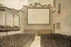 Caminando por Madrid: El Cine de la Flor, en Alberto Aguilera, 4 - El cine de verano en la azotea