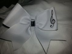 Check out this item in my Etsy shop https://www.etsy.com/listing/220189615/2-in-white-grosgrain-ribbon-with-black