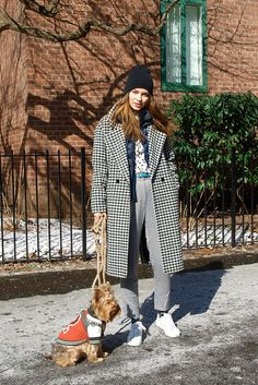 Dogs at New York Fashion Week | Dog Street Style | Teen Vogue