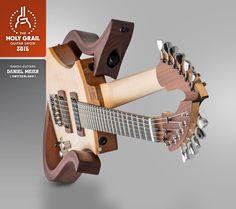 www.promusicianslist.comExhibitor at the Holy Grail Guitar Show 2015: Daniel Meier, Danou-Guitars, Switzerland. www.danou-guitars.ch www.holygrailguitarshow.com/exhibitors/danou-guitars/