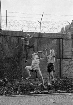Berlin, 1963. Even though I was only 10 yrs old at the time, I was aware of the awful things the Russians were doing to the  East Germans. They split up families until 1989, when the Berlin wall finally came down. Many people were killed trying to escape, and the East Germans lived in terrible conditions compared to Germans in West Berlin. Those were desperate times. The Stasi spied on everyone in East Germany.
