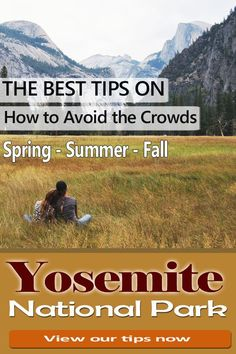 Yosemite National Park California How to avoid the crowds in spring summer and fall The best tips Especially if you go with kids Arches National Park Hikes, National Park Camping, National Parks Map, California National Parks, Sequoia National Park, Banff National Park, California Travel, Yosemite California, Camping In England