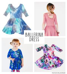 7fc9bf0c41060 Dot Dot Smile Ballernia Dress - Available in sizes 6 months - 10 years Dot  Dot
