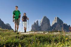 Die Drei Zinnen im Hochpustertal | Le Tre Cime di Lavaredo in Alta Pusteria