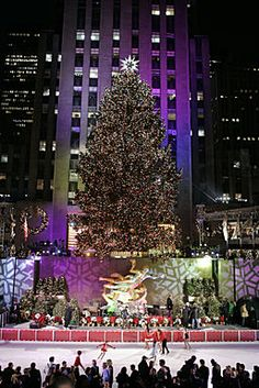 Another tradition not to be missed ... the lighting of the Christmas Tree at Rockefeller Center in NYC!  See it on WKTV (NBC) Tuesday, November 30th at 8:00pm.