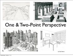 One & Two-Point Perspective                                 by Emily ValenzaWednesday, October 17, 12