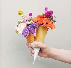quirky bouquet arrangements