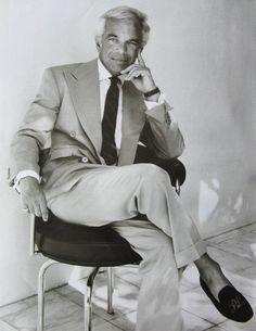 The man behind it all... Ladies and Gentlemen, Mr. Ralph Lauren
