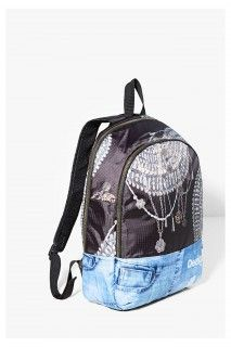 Desigual sportovní batoh Bagpack Y Luxury - 1399 Kč Paisley, Backpacks, Luxury, Bags, Fashion, Handbags, Moda, Fashion Styles, Backpack