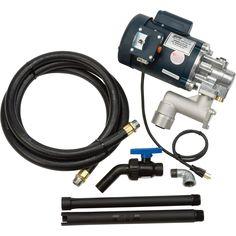 GPI Heavy-Duty Oil Pump — 4 GPM, 115 Volt, Model# L5116   AC Powered Oil Pumps  Northern Tool + Equipment