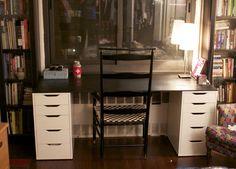 diy home desk - Google Search