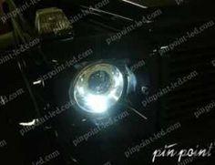 信頼の日亜化学工業LEDを使用。G-Class(バイキセノン)専用LEDポジションランプ。 http://www.pinpoint-led.com/product/83