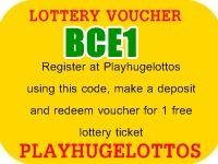 Playhugelottos - Euromillions, Powerball and many more lotteries online. Free voucher for lotto ticket.