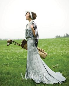 Vogue Korea, April 2010 #golf #VogueKorea #SportsFashion