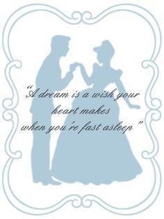 Cinderella quote card