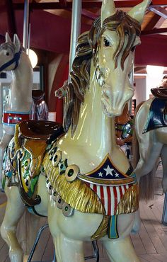 Carousel Horse by Heritage Museums Gardens, via Flickr